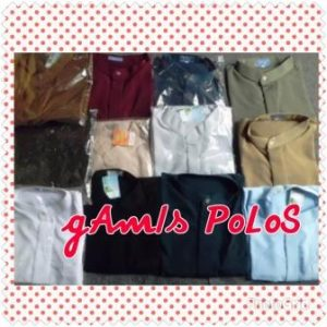 gamis polos pg
