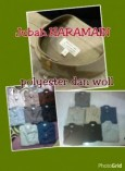 Jubah Haramain Polyester Kilap
